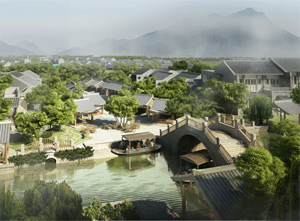 Эко-курорт Six Senses Qing Cheng Mountain, Китай